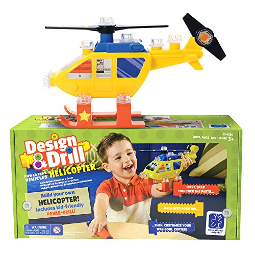 Educational Insights Design Vehicles Helicopter