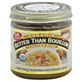 Better Than Bouillon Base Organic Chicken 8.0 OZ (Pack of 3)