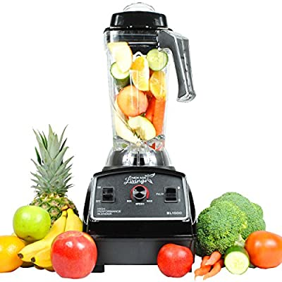 New Age Living BL1500 3 HP Commercial Smoothie Blender | Blends Frozen Fruits, Vegetables, Greens, even Ice | Make Pro Quality Shakes & Soups | ETL Rated With 5 Year Warranty