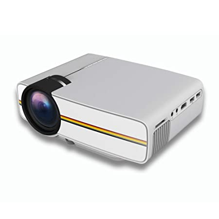QLPP Video proyector LCD LED Full HD Cine en casa con 1.670 ...
