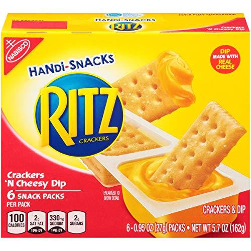 Handi Snacks Ritz Crackers 'n Cheese Dip, 5.7 Ounce (Pack of 12) -
