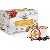 Super Organics Energy Boost Coffee Brew Cups with Superfoods & Probiotics | Keurig K-Cup Compatible | Energizing, Stamina | Medium Roast, USDA Certified Organic, Vegan, Non-GMO & Fair Trade, 12ct
