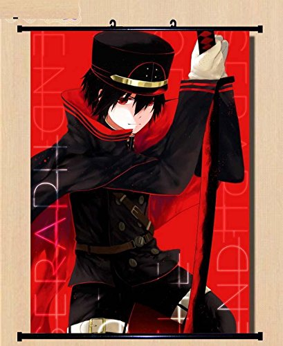 Home Decor Anime Japanese Seraph of the End / Owari no Seraph Hyakuya Yuuichirou Wall Poster 23.6x31.5-002
