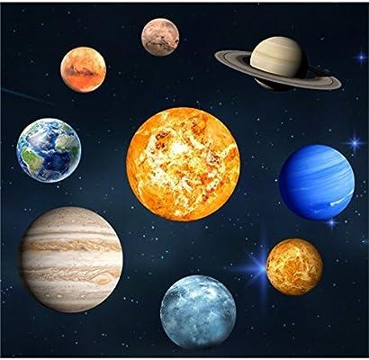 QWhing Scrapbooking Creativo 9 Piezas del Sistema Solar ...