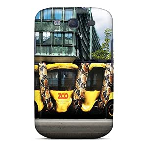 Excellent Galaxy S3 Case Tpu Cover Back Skin Protector Snake Bus