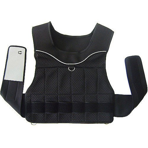 Gold's Gym 20-Pound Adjustable Weighted Vest by Golds Gym