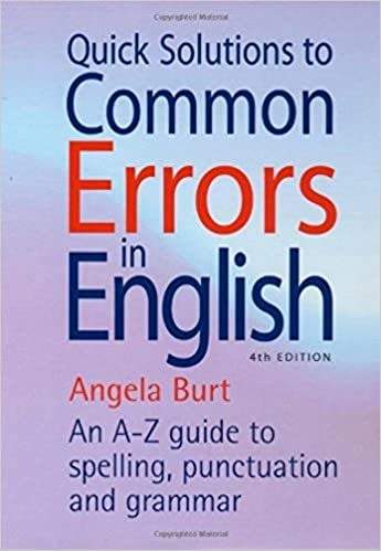 Amazon quick solutions to common errors in english an a z quick solutions to common errors in english an a z guide to spelling punctuation and grammar how to books 4th edition fandeluxe