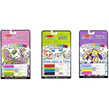 On the Go Magicolor Mess Free Coloring 3 item bundle: Friends & Fun Coloring, Princess Coloring, and Create a storybook by Melissa and Doug