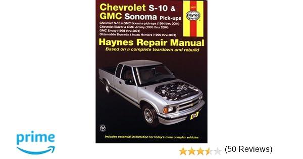 Chevrolet s 10 gmc sonoma pick ups haynes repair manual max chevrolet s 10 gmc sonoma pick ups haynes repair manual max haynes 9781563927287 amazon books sciox Images