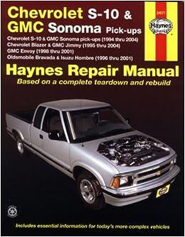 Chevrolet s 10 gmc sonoma pick ups haynes repair manual max chevrolet s 10 gmc sonoma pick ups haynes repair manual max haynes 9781563927287 amazon books fandeluxe Choice Image