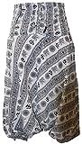 shopoholic fashion OM imprimé coupe ample Pantalon sarouel, SUPER CONFORT Pantalon de yoga, hippie