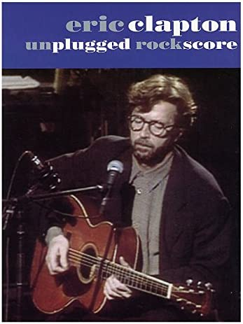 Eric Clapton: Unplugged Rock Score. Partituras para Guitarra Bajo ...