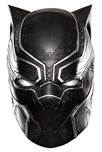 Marvel Masks (Marvel Men's Captain America: Civil War Black Panther Full Vinyl Mask, Multi, One Size)