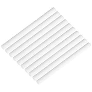 Filter Cotton Sticks Sponge Sticks Refill Replacement Wicks for Mini Portable Personal USB Humidifier and Mini Diffusers 10 Pack 8 x 123mm