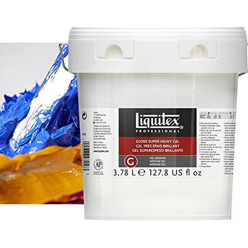 Heavy Gel (Liquitex® The Amazing Gloss Super Heavy Gel Medium 1 gallon (EA) x Quantity of 1)