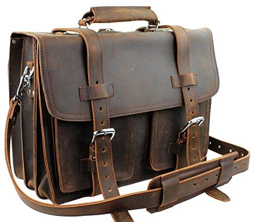"Vagabond Traveler 16"" C.E.O.Heavy Duty Classic Leather Br..."