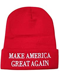 Make America Great Again Donald Trump Knit Skull Cap Hat Beanie
