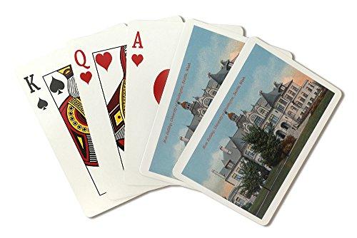 Seattle, Washington - Exterior View of University of WA Main Bldg (Playing Card Deck - 52 Card Poker Size with Jokers)