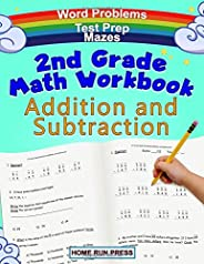 2nd Grade Math Workbook Addition and Subtraction: Second Grade Workbook, Timed Tests, Ages 4 to 8 years