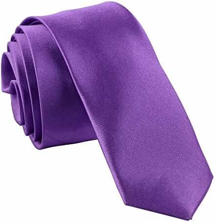 Men's Solid Color Slim Tie
