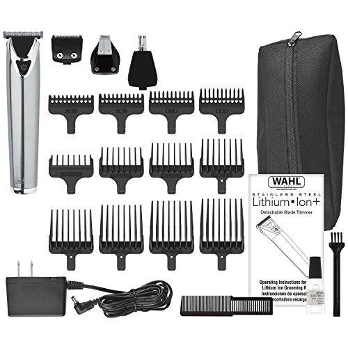 Wahl Steel Lithium Ion 18 Groomer Kit