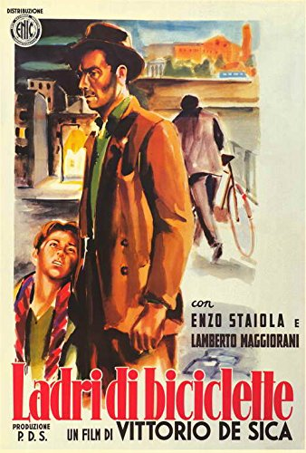 The Bicycle Thief - Movie Poster - 27 x 40