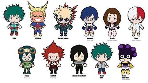 Heroes Collectors - Funimation My Hero Academia 3D Collectible Key Ring Blind Bag Novelty Accessory