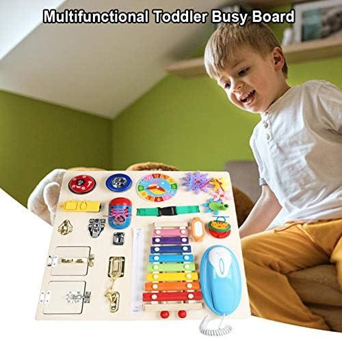 Baby Busy Bord Montessori Vaardigheden Bord Motorische Vaardigheden Speelgoed Activiteitenbord Educatief Speelgoed Speelgoed voor Kinderen