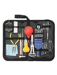 BABAN 22Pcs Professional Watch Back Case Opener Spring Bar Repair Tool Kit (Universal)
