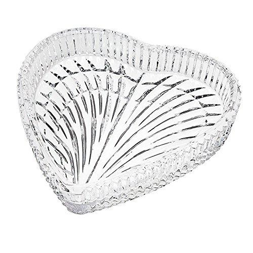 (Godinger Crystal Heart Shape)