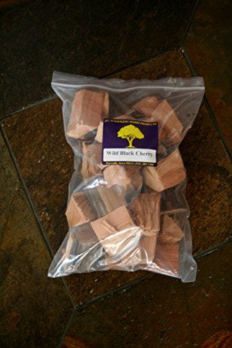 J.C.'s Smoking Wood Chunks - Gallon Sized bag - Wild Black Cherry