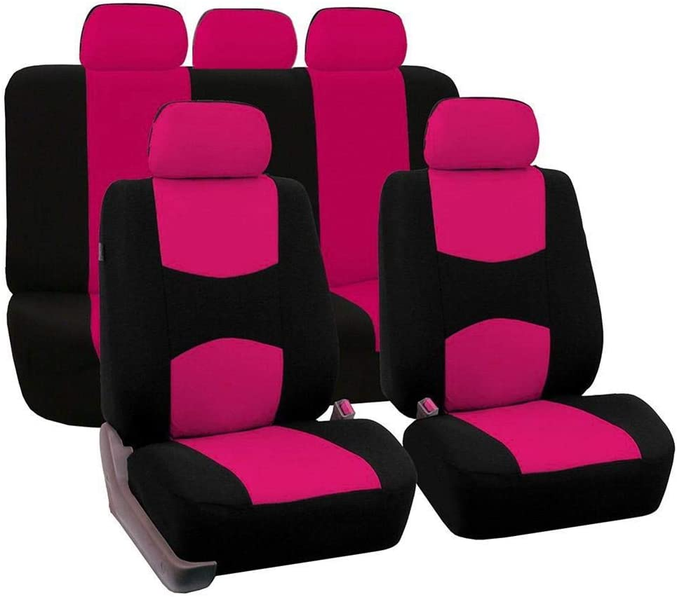 Coprisedile per Auto Sedile Anteriore E Posteriore Coprisedile Auto Tutto Incluso mbition 9PCS Coprisedile Universale per Auto