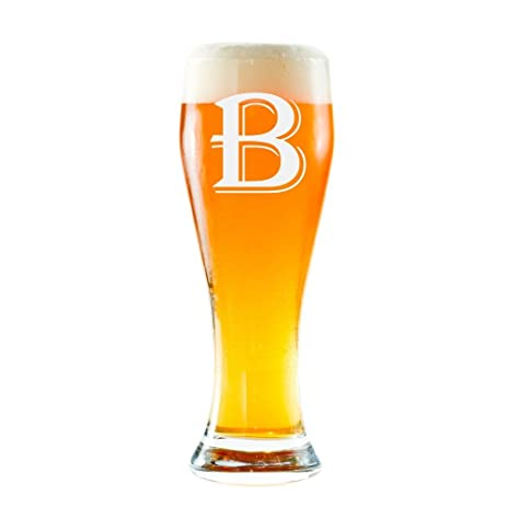 amazon com customized pilsner glass personalized pilsner glass