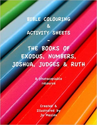 Bible Colouring & Activity sheets: Exodus, Numbers, Joshua, Judges ...