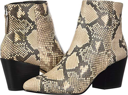 Dolce Vita Women's Coltyn Ankle Boot, Snake Print Embossed Leather, 10 M US