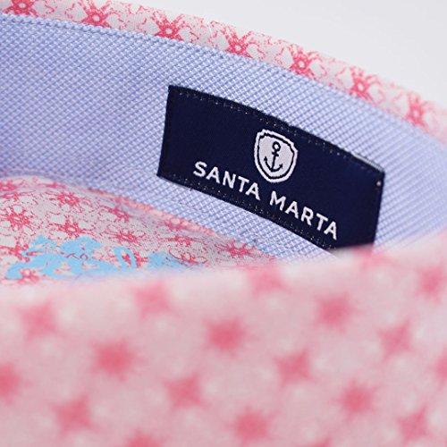 Corte Sm Estampada Para Mujer Camisa De Rosas Marta Entallado Flores Santa qxAP0wUnTx