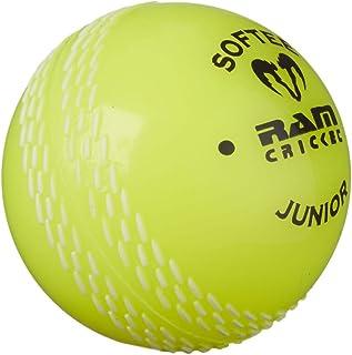 Softee Ram Cricket Coaching Ball __, confezione da 6 pezzi, colore: giallo