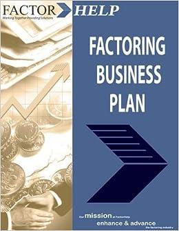 Factoring business plan esl college speech advice