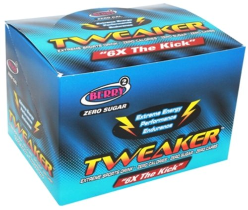 Tweaker Extreme Energy Sports Drink - Berry Flavor 12/2oz