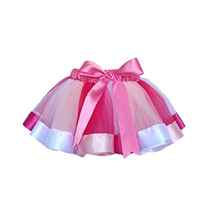 5f7a04d5c Amazon.com: OULII Girl Tutu Skirts Costume Princess Dance Dress ...