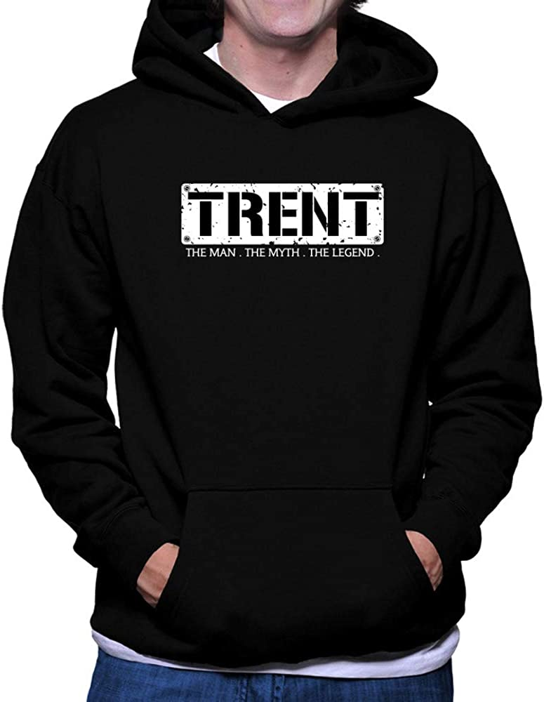 Teeburon Trent The Man The Myth The Legend Grunge Hoodie