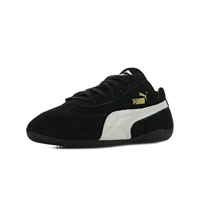 puma speed cat schwarz wildleder