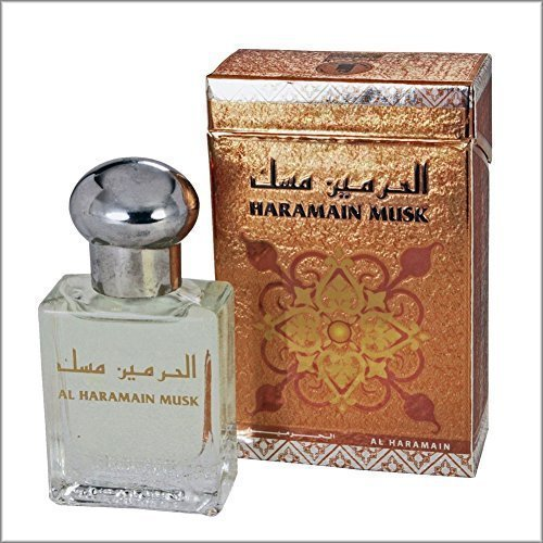 """Musk"" Unique Arabian Perfume Oil / Attar / Ittr 15 ML Alcohol Free Prime Fragrance Al haramain"