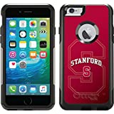 Coveroo Commuter Series Case for iPhone 6 Plus - Retail Packaging - Stanford University Cardinal Watermark