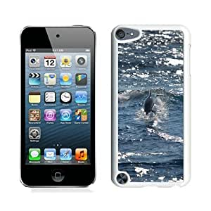 Unique And Durable Custom Designed Case For iPod Touch 5 With Bottlenose Dolphin Animal Mobile Wallpaper White Phone Case