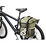 15L Waterproof Mountain Road Bicycle Rack Bag Cycling Double Side Rear Rack...