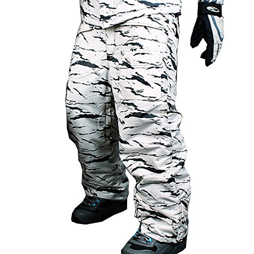 Myglory77mall Impermeabili Snowboard S07 E Pantaloni Per Uomo Mimetici RfHpwqa