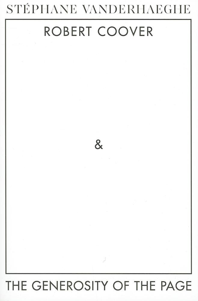 Download Robert Coover and the Generosity  of the Page (Dalkey Archive Scholarly Series) PDF