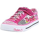 Skechers Twinkle Toes Shuffles Startastic Sneaker (Toddler/Little Kid/Big Kid)