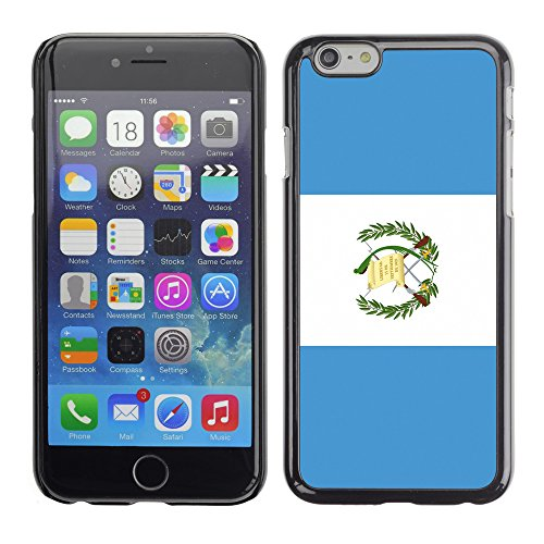(STPlus Guatemala Guatemalan Flag Hard Cover Case for Apple iPhone 6 / 6S)